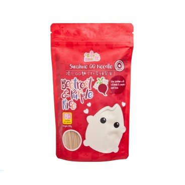 BABY BASIC Sunshine Qq Noodle beetroot Purple Rice 220G