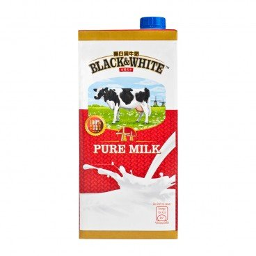 BLACK & WHITE - Full Cream Milk - 1L