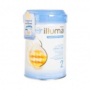 WYETH ILLUMA - Illuma Hmo Stage 2 - 850G