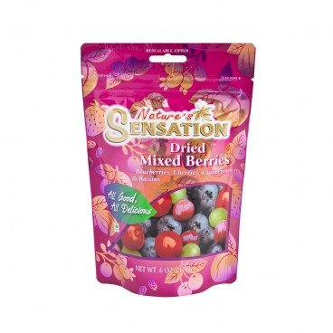NATURE'S SENSATION Dried Mixed Berries 170G