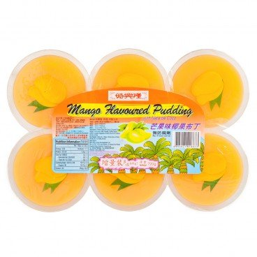 SZE HING LOONG - Mango Pudding With Nata De Coco - 120GX6
