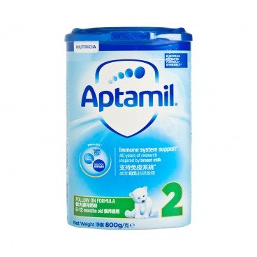 APTAMIL PRONUTRA Pronutra Follow On Formula 2 800G