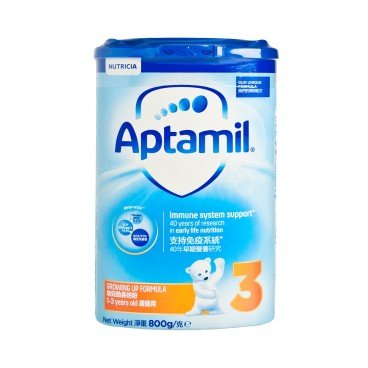 APTAMIL PRONUTRA Pronutra Growing Up Formula 3 800G