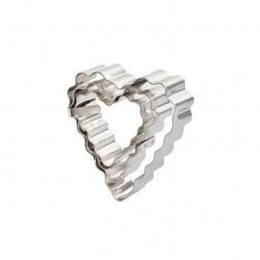 WAVE COOKIE CUTTER-HEART