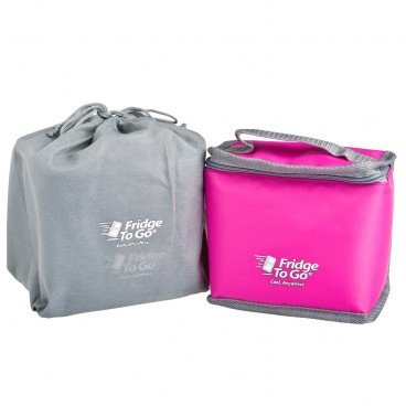 FRIDGE-TO-GO Portable Cooler Bag Dual pink PC