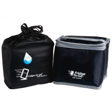FRIDGE-TO-GO - Portable Cooler Bag Luncheon black - PC