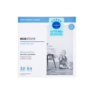 ECOSTORE Laundry Powder Fragrance Free 1KG