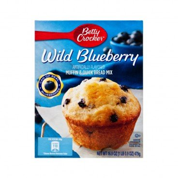BETTY CROCKER Muffin Mix blueberry 16.9OZ