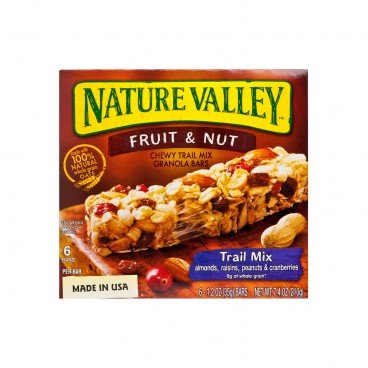 NATURE VALLEY - Chewy Granola Bar trail Mix Fruit Nut - 210G