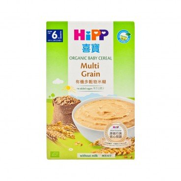 HIPP Organic Cereal Pap Multicereal 200G