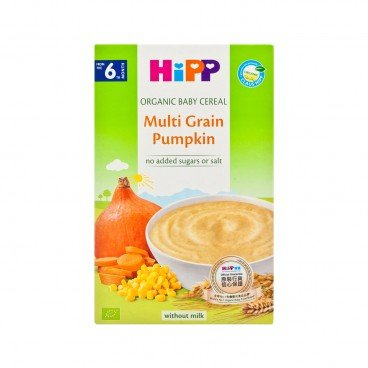 ORGANIC CEREAL PAP MULTICEREAL-PUMPKIN