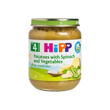 HIPP Organic Cream spinach With Potatoes 125G