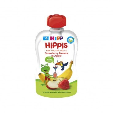 HIPP Organic Strawberry Banana In Apple 100G