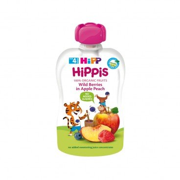 HIPP - Organic Wild Berries In Apple Peach - 100G