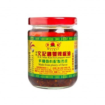 MAN KEE - Hot Pepper Sauce - 200G