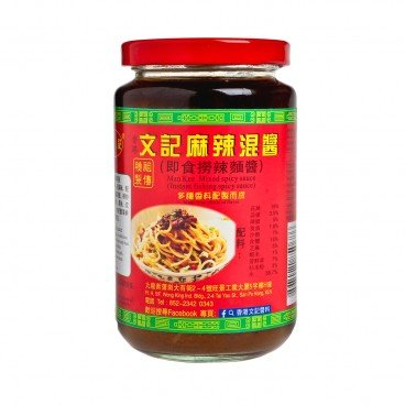 MAN KEE - Mixed Spicy Sauce - 398G