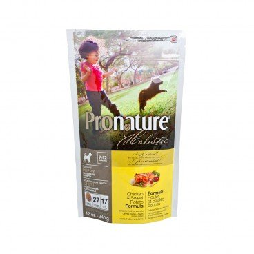 PRONATURE HOLISTIC Chicken Sweet Potato Formula puppy Dog 12OZ