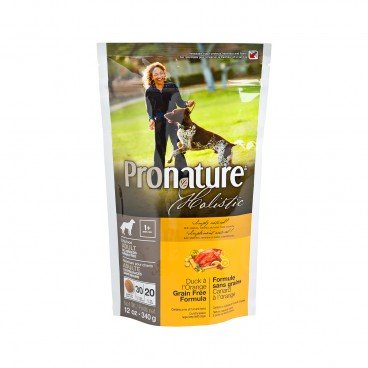 PRONATURE HOLISTIC Duck Orange Formula adult Dog 12OZ