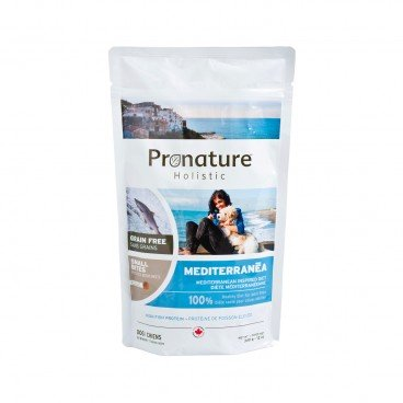 PRONATURE HOLISTIC Mediterranean Inspired Diet small Bites adult Dog 340G