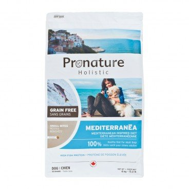 PRONATURE HOLISTIC Mediterranean Inspired Diet small Bites adult Dog 6KG