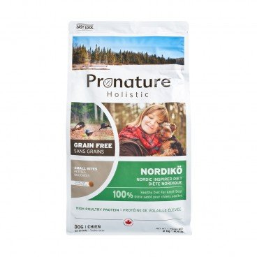 PRONATURE HOLISTIC Nordic Inspired Diet small Bites adult Dog 2KG