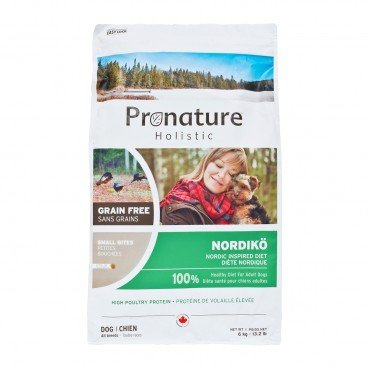 PRONATURE HOLISTIC Nordic Inspired Diet small Bites adult Dog 6KG