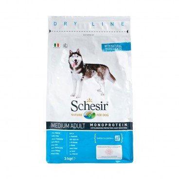 SCHESIR Maintenance Fish medium Bites adult Dog 3KG