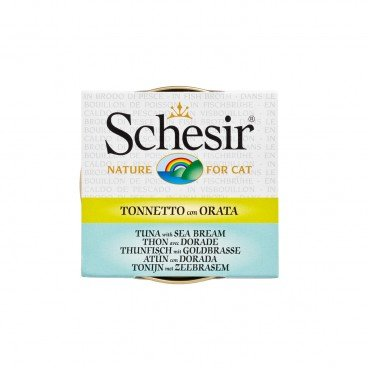 SCHESIR Tuna With Soup Tin cat 70G