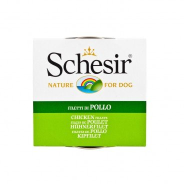 SCHESIR Chicken Tin dog 150G