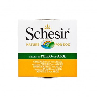 SCHESIR Chicken With Aloe Tin dog 150G