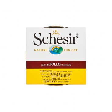 SCHESIR Chicken With Rice Tin cat 85G