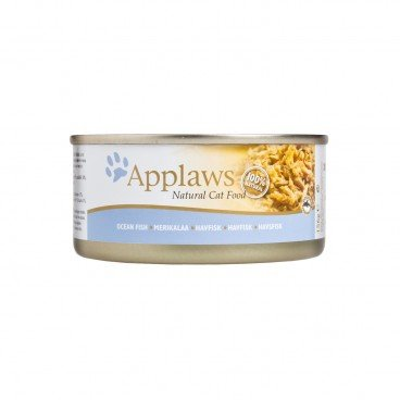 APPLAWS Ocean Fish Rich Tin cat 156G