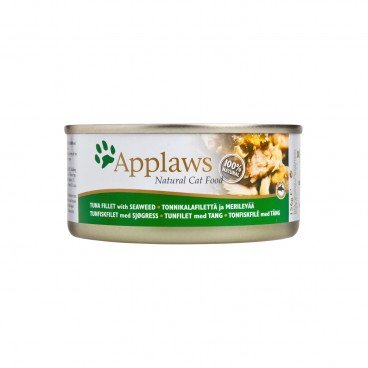 APPLAWS Tuna With Seaweed Rice Tin cat 156G