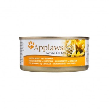APPLAWS Chicken With Pumpkin Rich Tin cat 156G