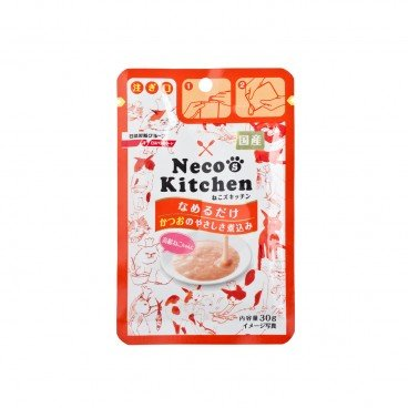 NISSHIN Necos Kitchen Katsuo Soup senior Cat 30G
