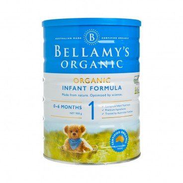 BELLAMY'S ORGANIC - Step 1 Infant Formula - 900G