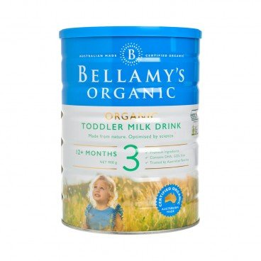 BELLAMY'S ORGANIC Step 3 Toddler Milk Drink 900G