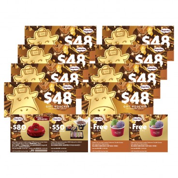 HAAGEN-DAZS - Voucher Set single Scoop - SET