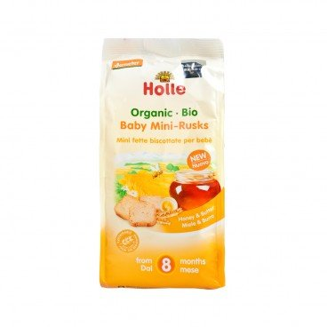 HOLLE - Organic Baby Mini Rusks - 100G