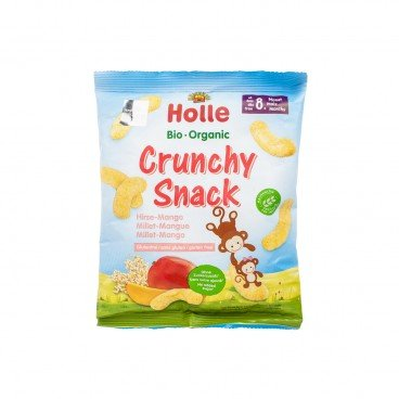 HOLLE Organic Crunchy Millet Mango Snack 25G