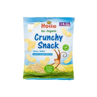 HOLLE Organic Crunchy Millet Snack 25G