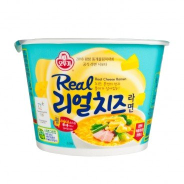 REAL CHEESE CUP NOODLE