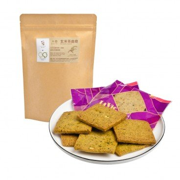 GOOD GOODS - Green Tea With Roasted Rice Cookies - 120G