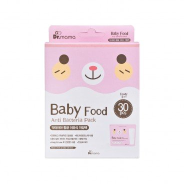 DR MAMA - Baby Food Storage Bags - 30'S