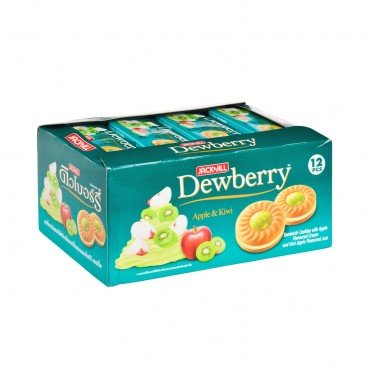 DEWBERRY BISCUITS-APPLE KIWI FLAVOUR