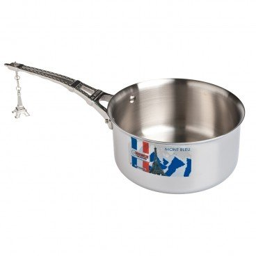 AFFINITY STEEL SAUCE PAN EIFFEL TOWER HANDLE 18CM