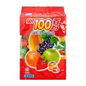 COCOALAND Lot 100 Assorted Gummy Candy 1KG
