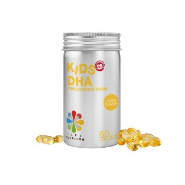 LIFE NUTRITION Kids Dha 60'S