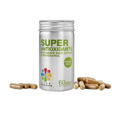 LIFE NUTRITION - Super Antioxidants - 60'S
