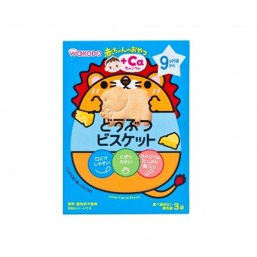 WAKODO - Aminal figured Biscuits Ca - 35G